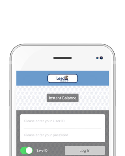 Use the Lead Bank personal banking app