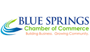 The Blue Springs Chamber of Commerce logo