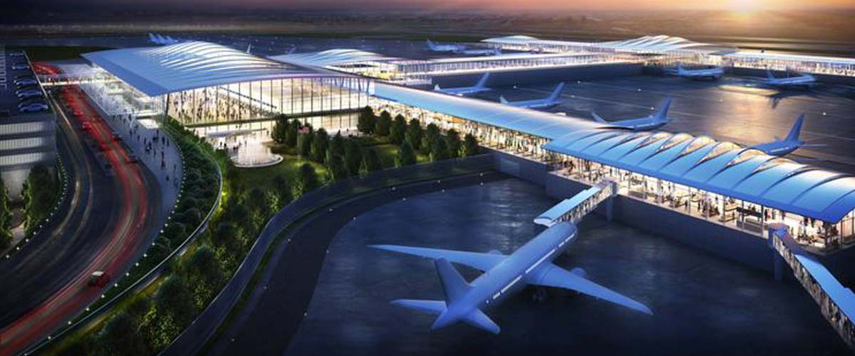 The future Kansas City Edgemoor Development single terminal with financing from Lead Bank