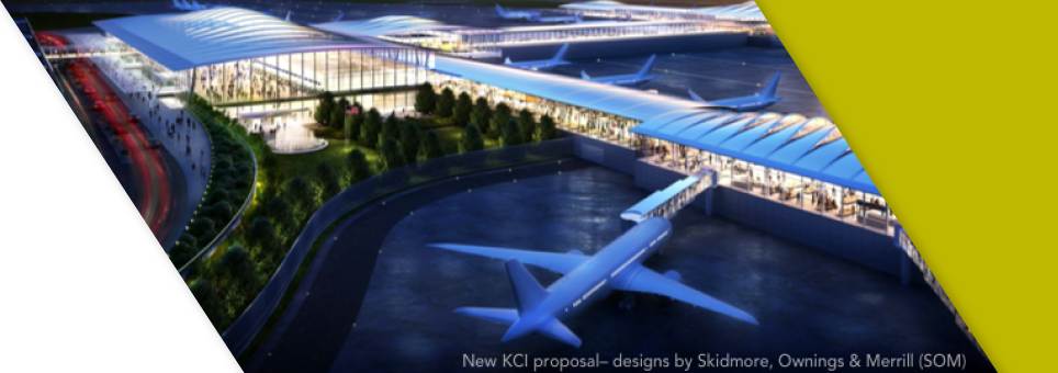 An image of the KCI new single terminal airport design